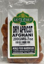 Afghani Dry Apricot 200 GMS