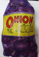 Onion Red 25 LB bag