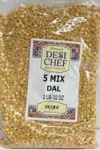 5 Mix Dal 2 Lb