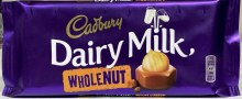 WHOLE NUT DAIRY MILK 120G