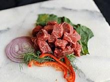 Beef Handcut Chilli Meat 2 LB @4.99 per LB