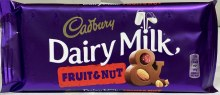 DAIRY MILK FRUIT & NUT 110G