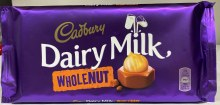 DAIRY MILK WHOLE NUT 200G