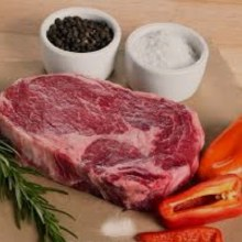 Beef Rib Eye Steak Bonless 3 LB @6.99