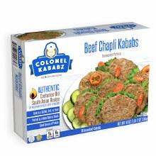Beef Chapli Kababs 8ct