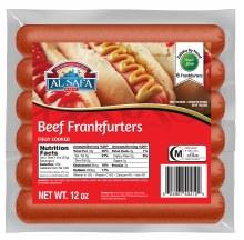Beef Frankfurters 12oz