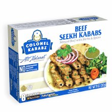 Beef Seekh Kababs 8 Ct