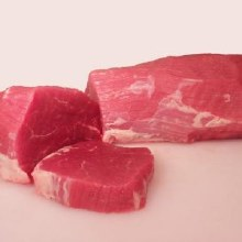 Calf Eye Round Steak N/C 3 LB @3.49 per LB