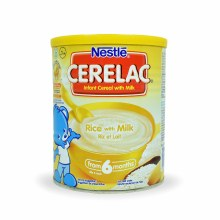 CERELAC RICE AND MILK 400G