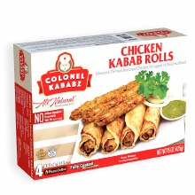 CHICKEN KABAB ROLLS 4CT