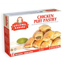 CHICKEN PUFF PASTRY 12CT