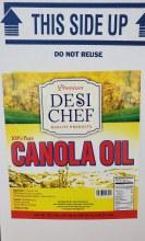 Canola Oil 16 Liters (32.5 LB)