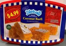 COCONUT BARFI 1LBS