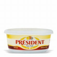 UNSALTED FRENCH BUTTER 250GM