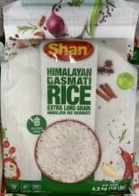 Himalayan Basmati Rice 10LB