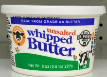 UNSALTED WHIP BUT 8oz