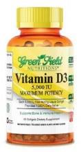 Vitamin D3 5000 IU 60 Pcs