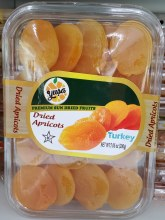 DRIED APRICOTS TURKEY 200G