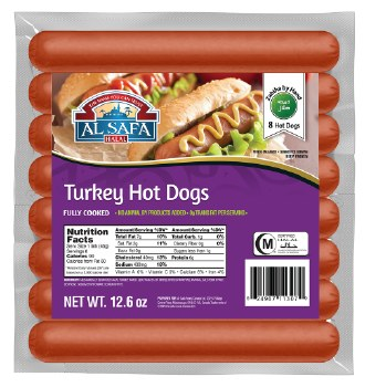 TURKEY HOT DOGS 12.6 OZ