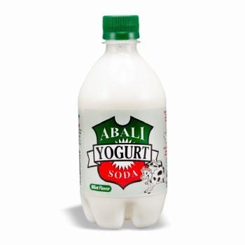 Abali Yogurt Soda with Mint 16 oz