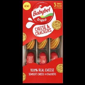 Bel Babybel cheese craker original 2.8 oz