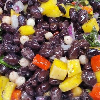Phoenicia Black Bean Mango Salad