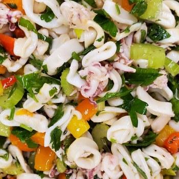 Phoenicia Calamari Salad