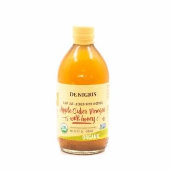 De Nigris Apple Cider Vinegar Honey Organic 500ml