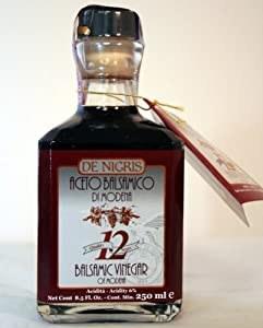 De Nigris Balsamic Vinegar 12 years 8.5oz