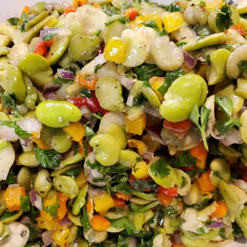 Phoenicia Fava Bean Salad