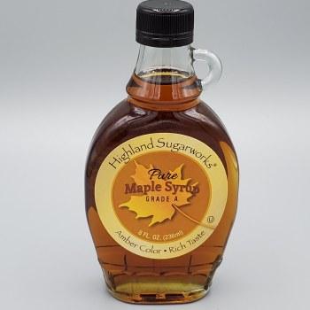 Highland Sugarworks Vermont Maple Syrup Amber 8oz