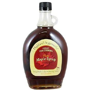 Highland Sugarworks Vermont Dark Maple Syrup 8oz