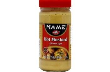 Kame Mustard Hot 7.5oz
