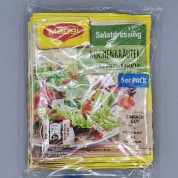 Maggi Kuchenkrauter Salad Dressing 5 Packs