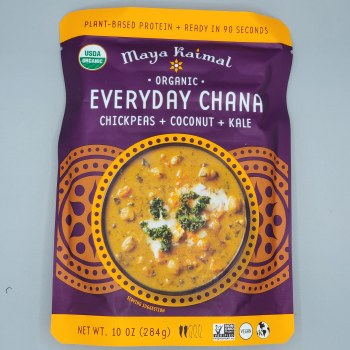Maya Kaimal Chana Chickpea Coconut Kale Organic 10oz