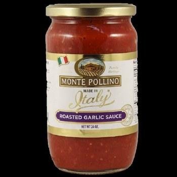 Monte Pollino Roasted Garlic Sauce 24oz