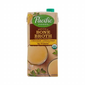 Pacific Chicken Broth No Salt Organic 32oz