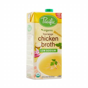Pacific Chicken Broth Low Sodium 32oz