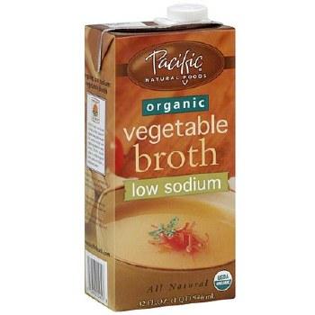 Pacific Vegetable Broth Low Sodium 32oz