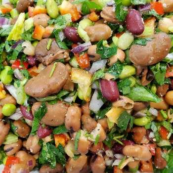 Phoenicia Rainbow Bean Salad