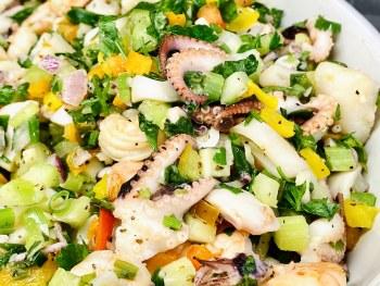 Phoenicia Seafood Salad