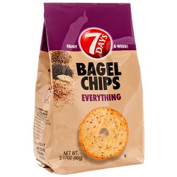 7 Days Bagel Chips Everything 3 oz