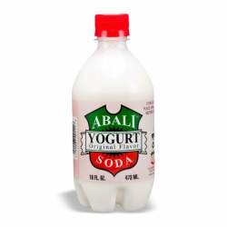 Abali Yogurt Soda Plain 16 oz