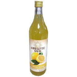 Adriatic Sun Lemon Syrup 33 oz