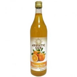 Adriatic Sun Orange Syrup 33 oz