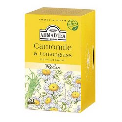 Ahmad Camomile Lemongrass Tea 20 bags