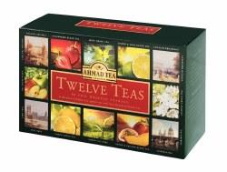 Ahmad 12 Teas Selection, 60 bags