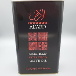 Al'ard Palestinian Extra Virgin Oil 3L Tin Can