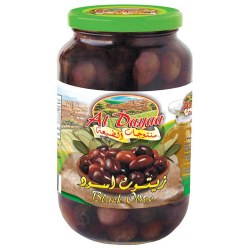 Al Dayaa Black Olives 900g