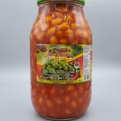 Al Dayaa Green Olives with Shatta 2kg